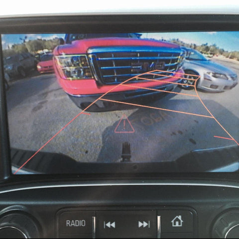 Chevrolet GM Work Truck Rear View Camera Programmer (IOB Radio)