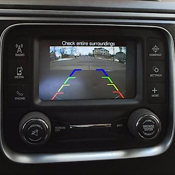 Dodge Rear View Camera Programmer