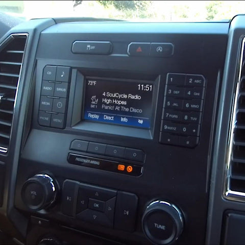 Ford Sirius Satellite Radio Programmer