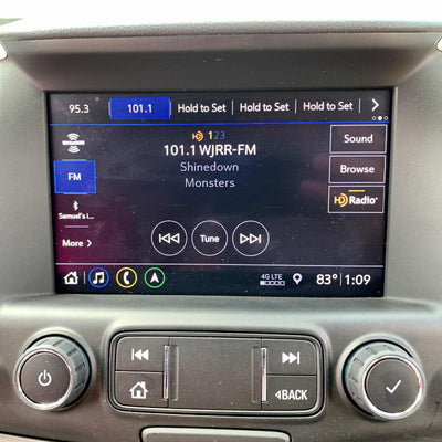 GMC IOS (Non-Nav) to IOU (Nav) Factory OEM GPS Navigation with HD Radio Upgrade