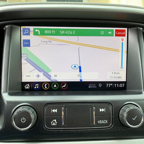 Chevrolet Non-Navigation to Factory OEM Navigation GPS with HD Radio Upgrade