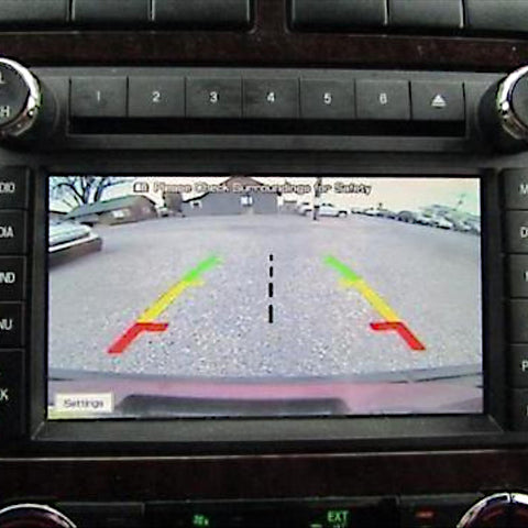 Lincoln Rear View Camera Programmer