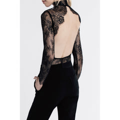 Allende Bodysuit in Noir