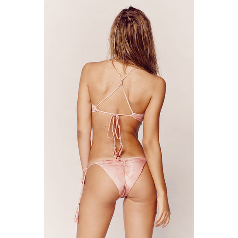 Desert Mirage Bikini Bottom in Blush Tie Dye (FINAL SALE)