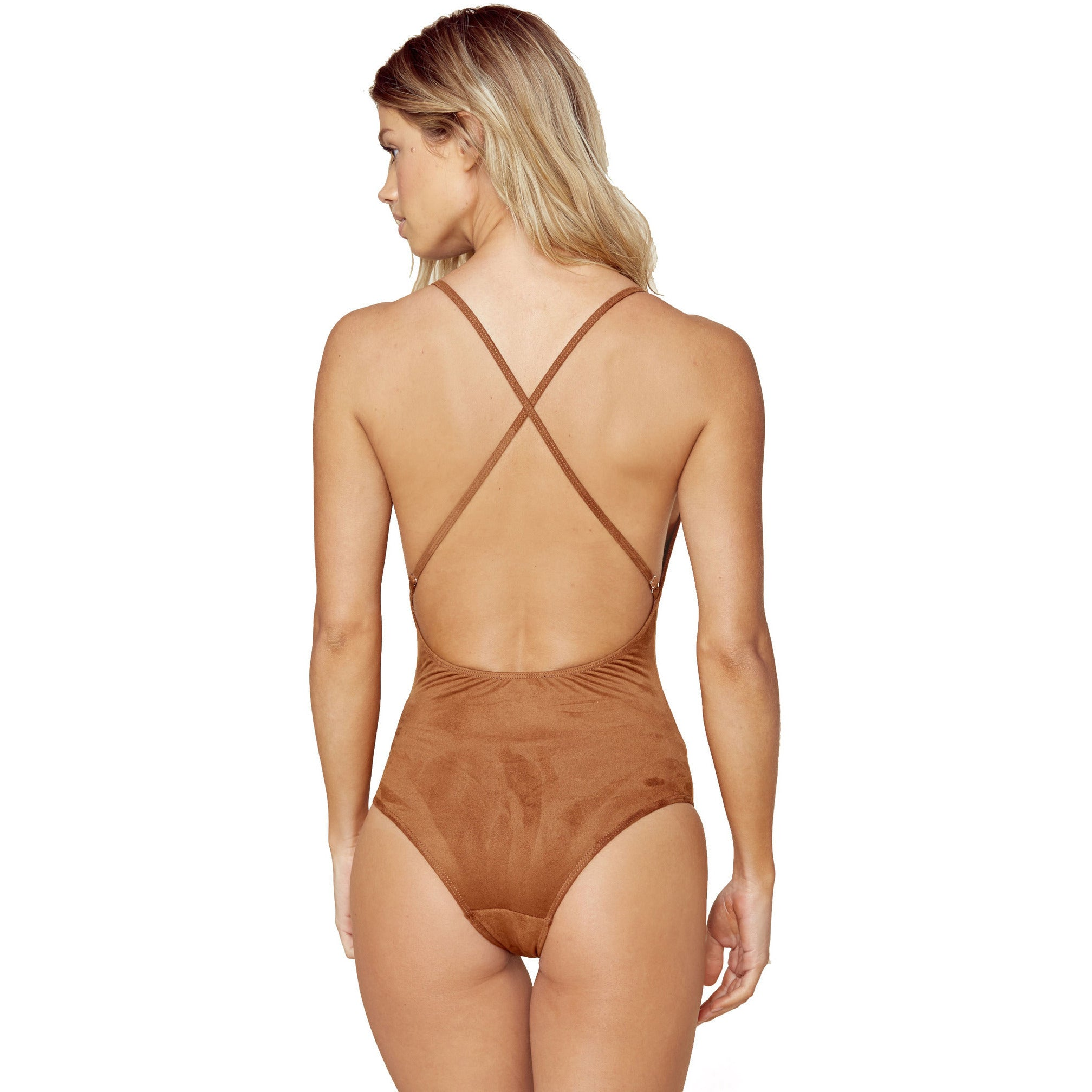 Boogie Nights Bodysuit in Coco