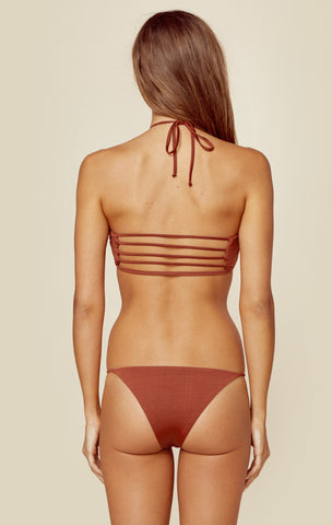 Bamboo Bandeau in Clay (FINAL SALE)