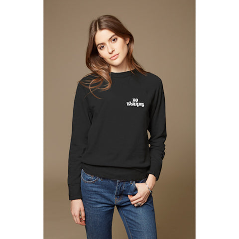 No Worries Sweatshirt in Black
