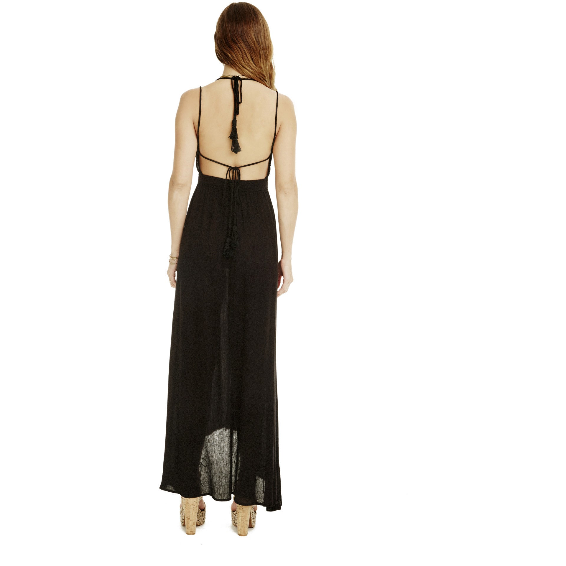 Belen Maxi Dress in Black