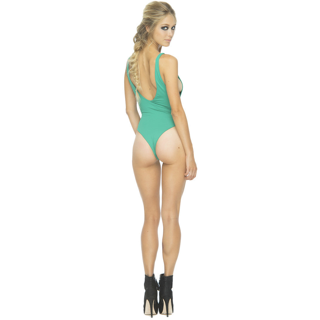 Rainey One Piece in Kelly Green