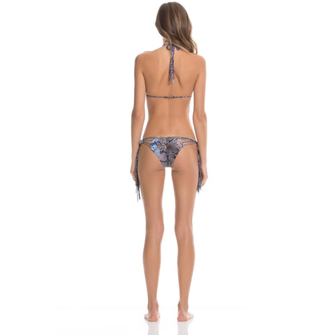 Side Tie Brazil Bikini Bottom in Boa Forma