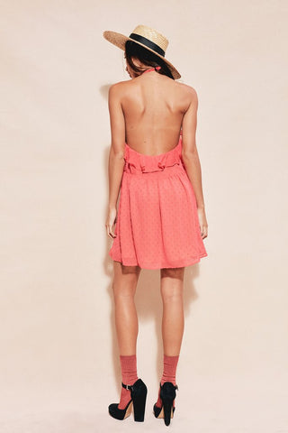 Tarta Tank Dress in Flamingo