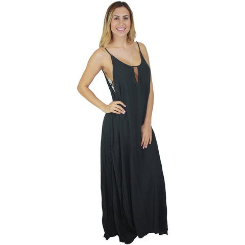 Heats On Maxi in Soft Black
