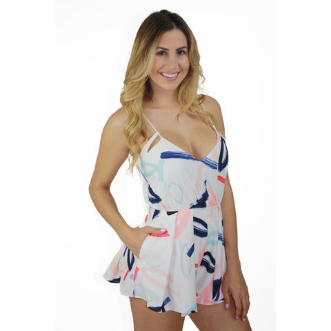 Dreamtime Romper in Dreamtime Floral