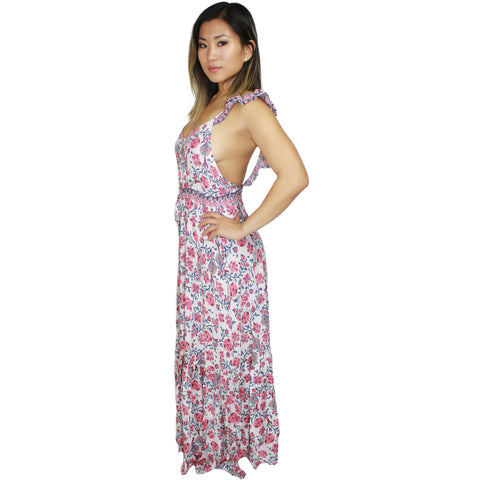 Gypsy Open Back Maxi Dress