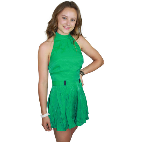 Abbey Romper in Emerald
