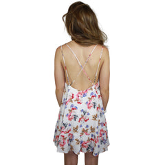 Hayley Floral Tea Party Shift Dress