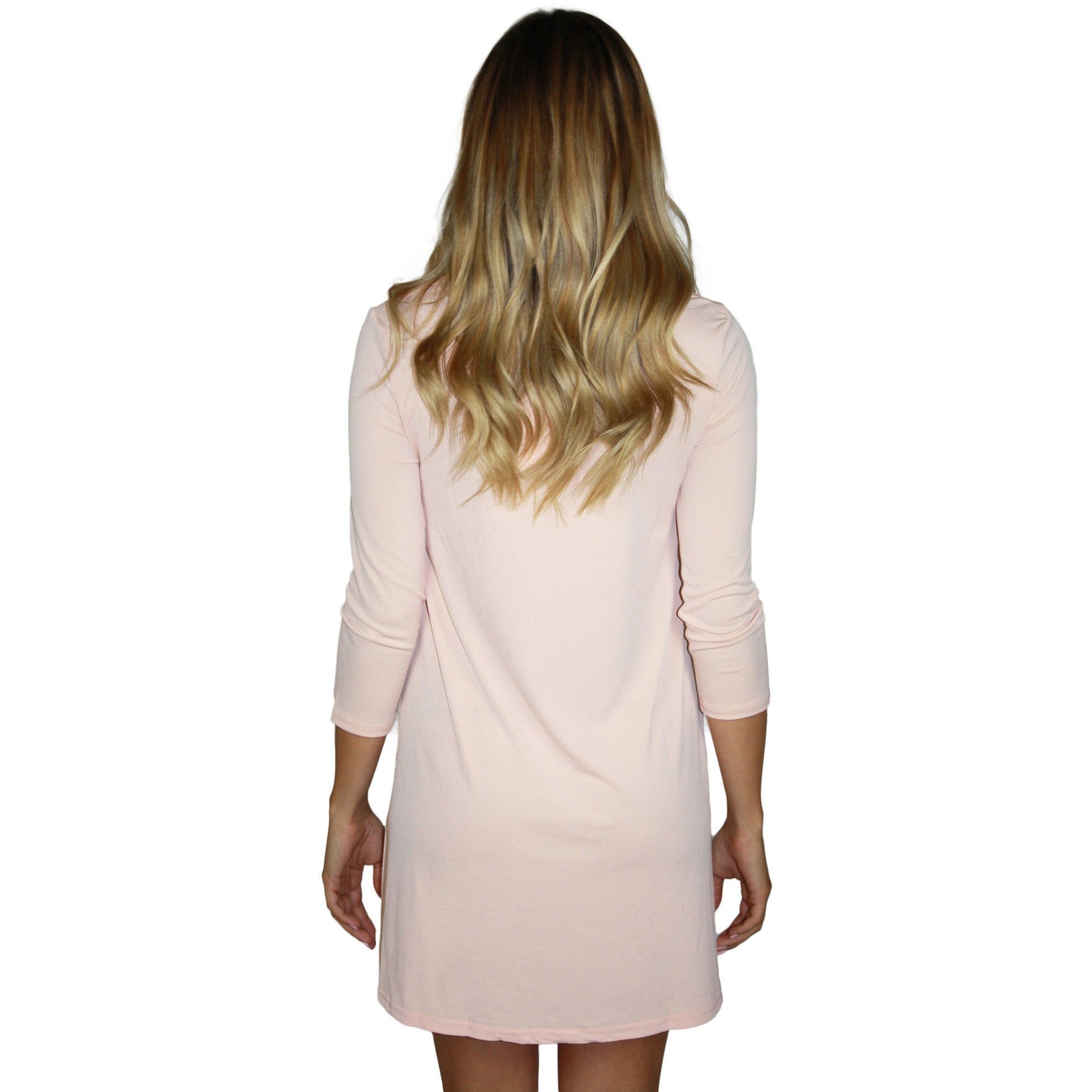 Light Pink Woven Dress