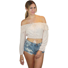 Luciana Top in Rose