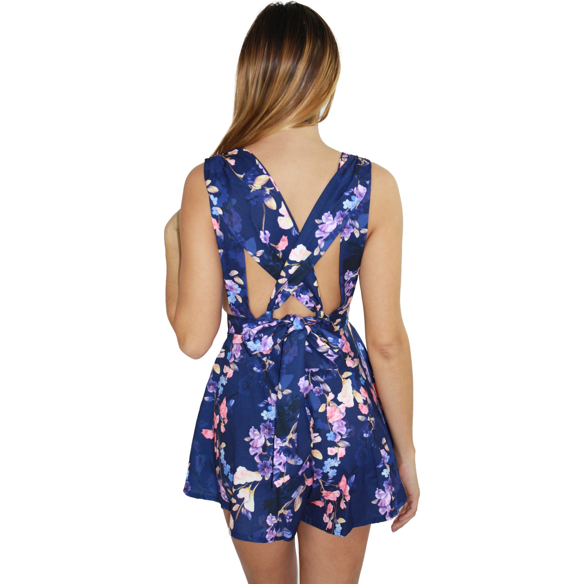 Sasha Bow Back Romper