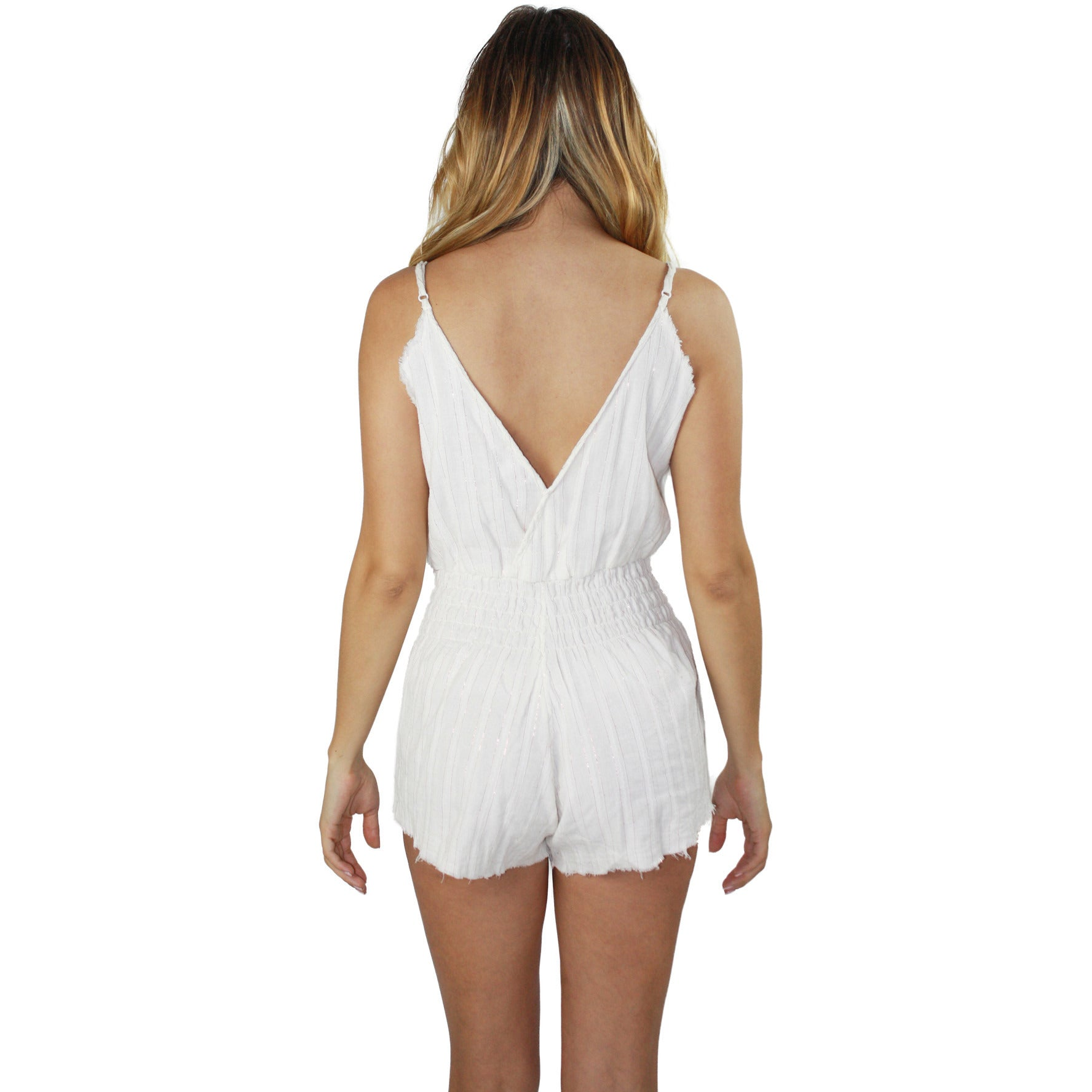 Sorrento Romper in Rose Gold