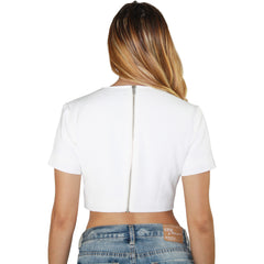 Night Rider Top in Blanc