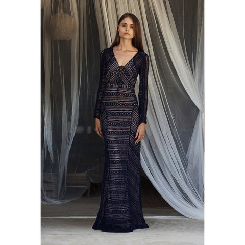 Eden Maxi Dress in Midnight