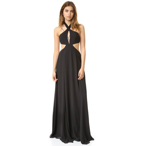 Bonita Maxi Dress in Black