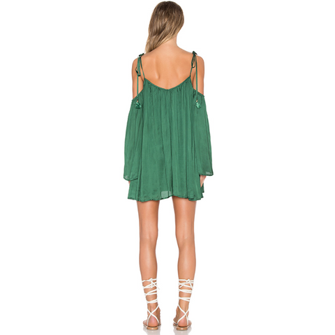Rampling Mini Dress in Basil