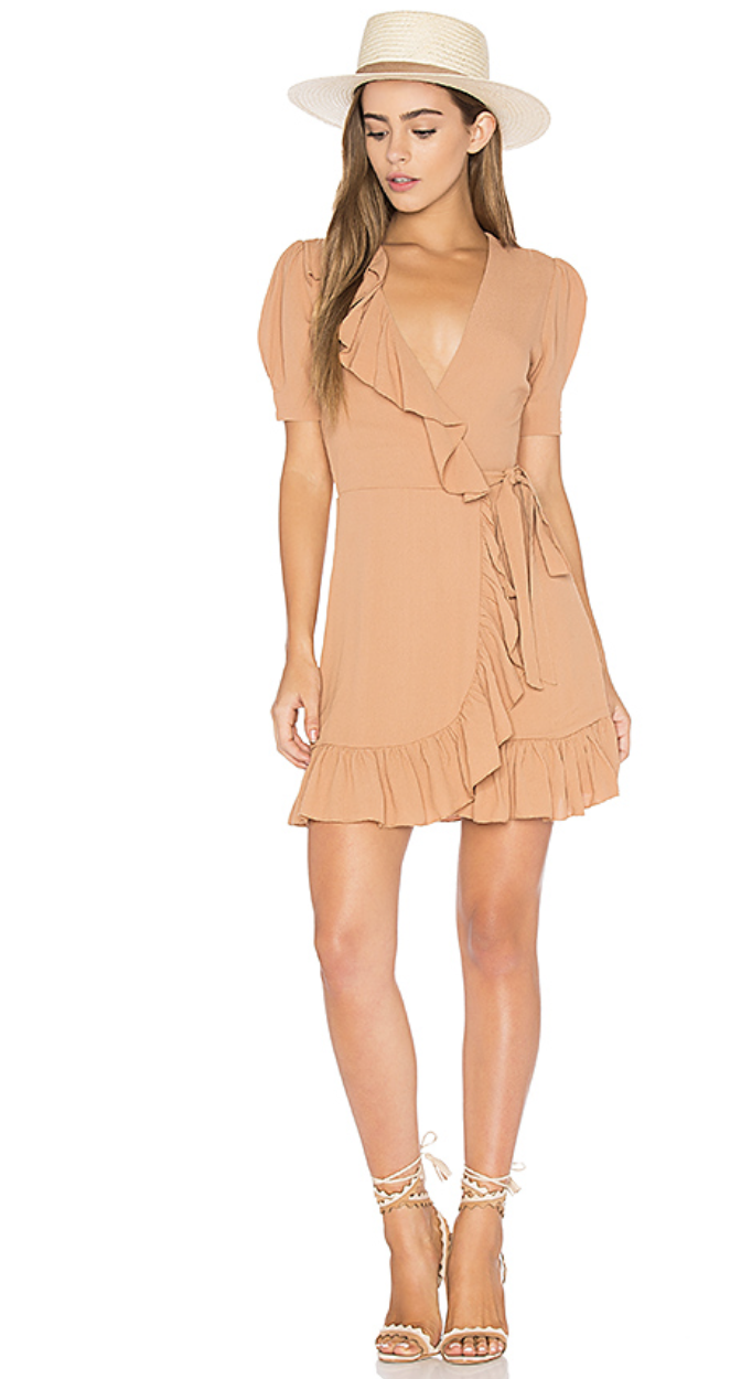 June Dress in Camel