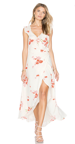 Fillmore Dress in Creme Floral