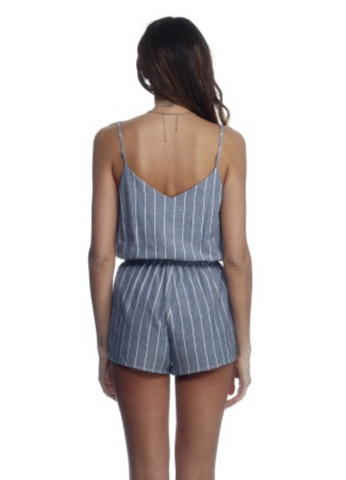 Ellie Romper in Railroad