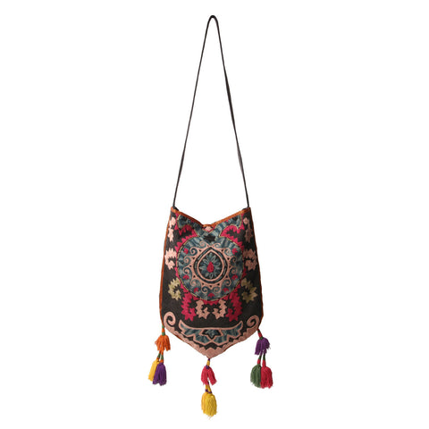 Suzani Multi Colored Bucket Bag