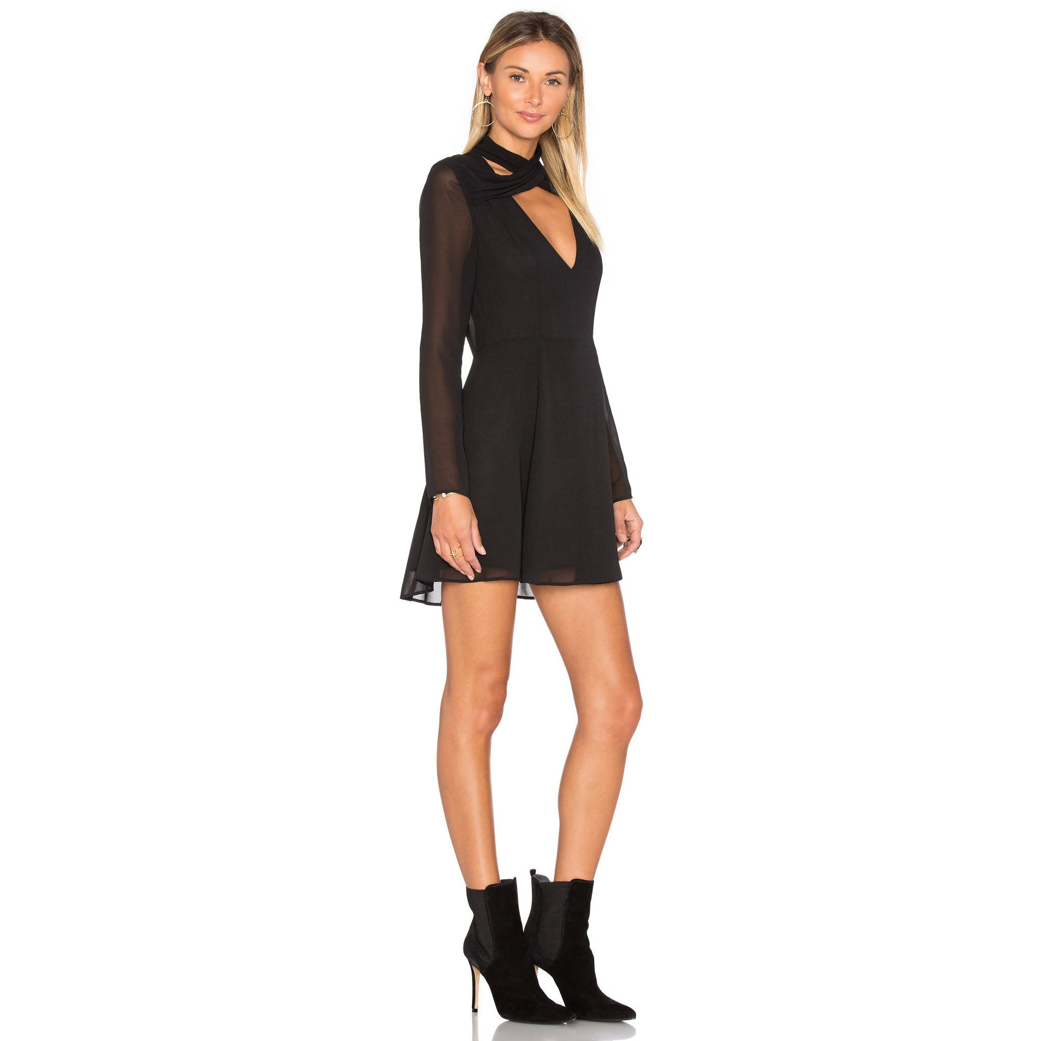 eb530c5a3af2 Privacy Please- Gilette Dress in Black