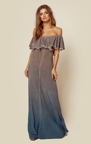 Aphrodite Maxi Dress in Antigua Ombre