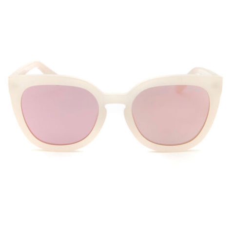 Noosa Pearl Rose Gold Mirror Sunglasses