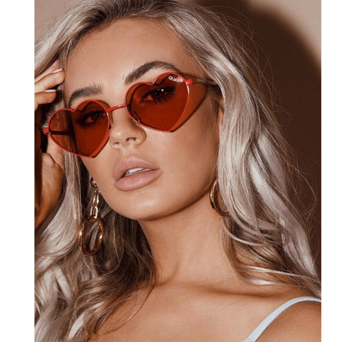 Heartbreaker Red Lens Sunglasses