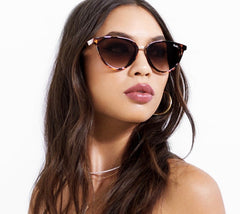 Rumours Gold Tortoise Sunglasses