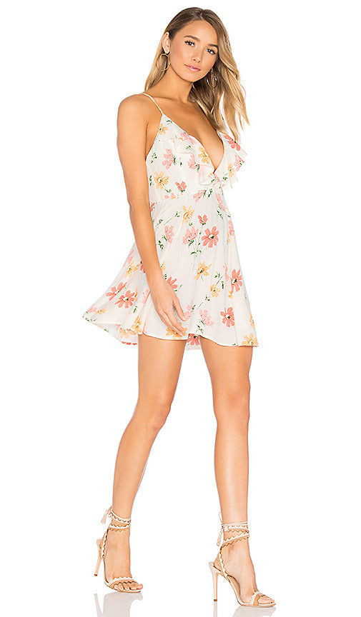 Sigsbee Dress in Creme Floral