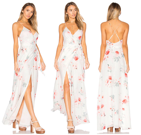 Isabella Maxi Dress in Floral