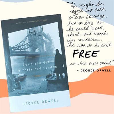 Our First Book Talk Video! Down And Out In Paris And London By George Orwell
