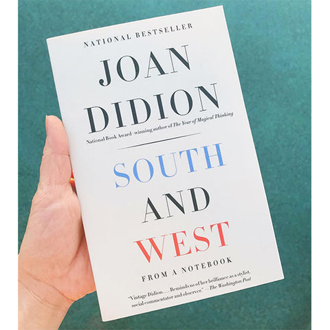 Book - South And West, by Joan Didion