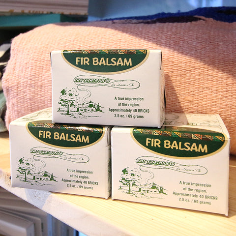 Incense - Fir Balsam, 40 Bricks