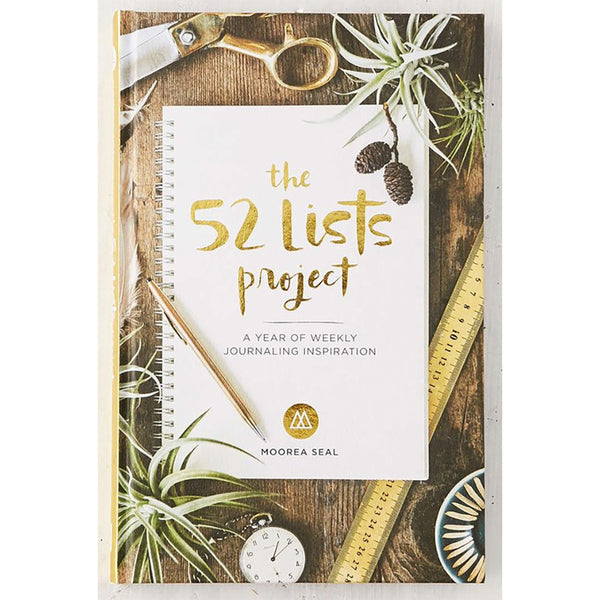 Book - 52 Lists Project: A Year Of Weekly Journaling Inspiration, by Moorea Seal