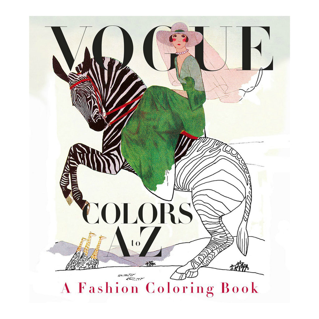 Book - Vogue Colors A to Z (a fashion coloring book)