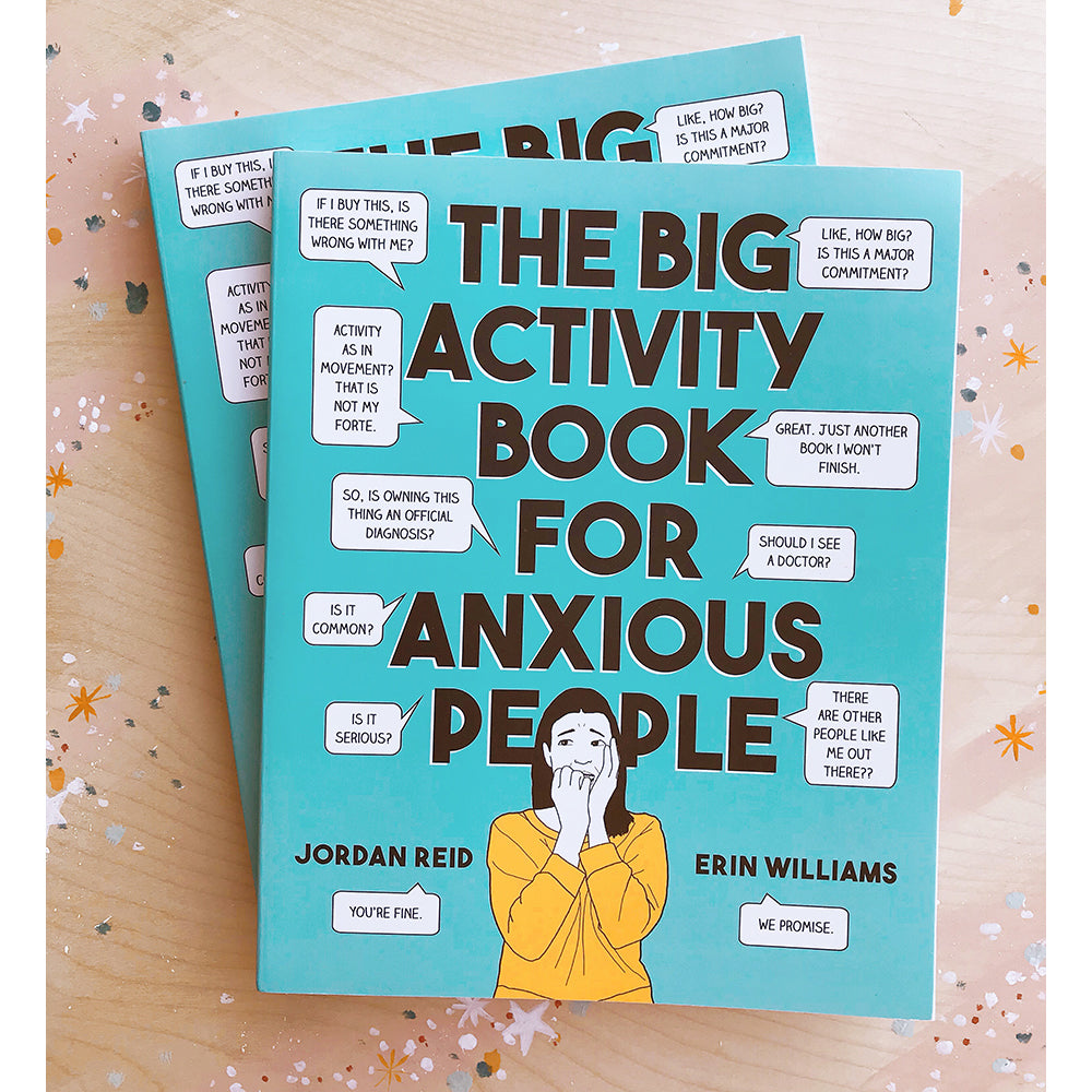 Book - The Big Activity Book For Anxious People