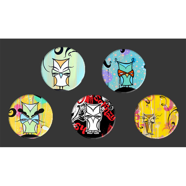 Button Pack - The Owl Pack