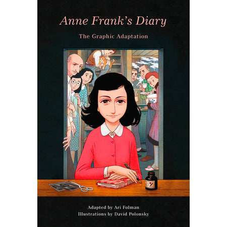 Book - Anne Frank's Diary, The Graphic Adaptation