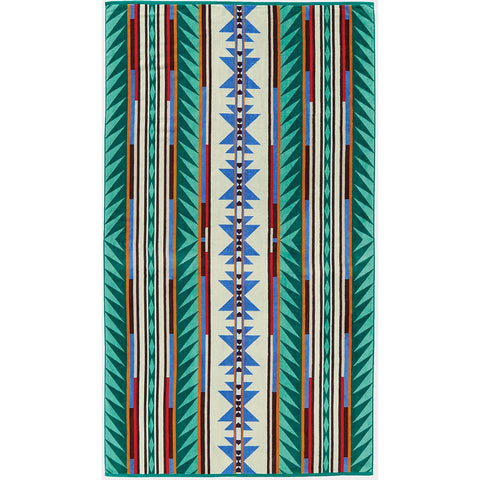 Pendleton - Beach Towel, Turquoise Ridge Multi
