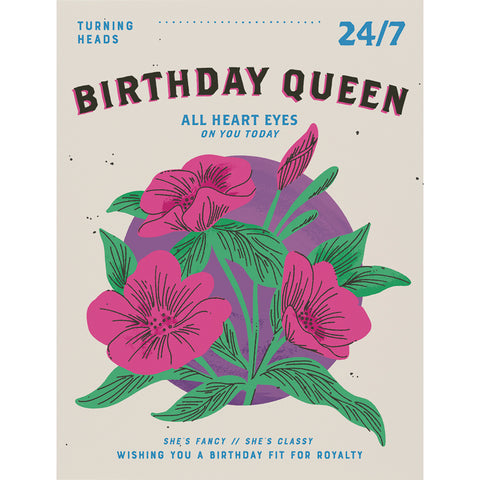 Card - Birthday Queen