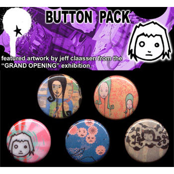 Button Pack - Grand Opening